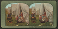 A family of refugees waiting for dinner in camp at Ft. Mason after the San Francisco disaster, from Robert N. Dennis collection of stereoscopic views.png