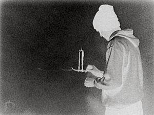 """Robin Rhode - Robin Rhode, """"the candle"""""""
