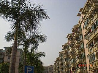 Dongchong, Guangzhou - Image: A housing complex in dongchong town
