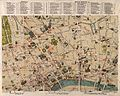 A map of London; showing sites of medical and other interest Wellcome V0012883.jpg