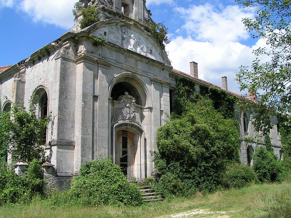 Abbaye de l 39 tanche wikip dia for Maison etanche