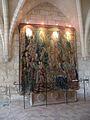 Abbaye de Royaumont - Tapisserie dans les cuisines 02.JPG
