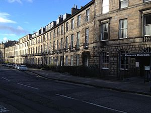 John Macdonald, Lord Kingsburgh - Abercromby Place, Edinburgh