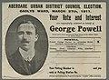 Aberdare Urban District Council Election Gadlys Ward, March 27th, 1911 (5449675).jpg