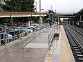 Accessible platform segment at Sunnyvale station, November 2018.JPG
