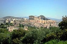Η Ακρόπολη από το λόφο Φιλοπάππου