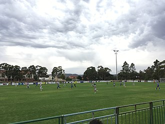 Adelaide City FC - An NPL match between Adelaide City and West Adelaide at Adelaide City Park