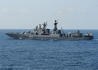 <i>Udaloy</i>-class destroyer 1980 Soviet anti-submarine ship class