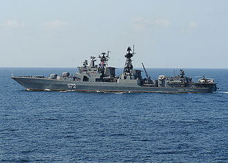 Guided missile destroyer - Admiral Vinogradov (572), a Udaloy-class destroyer