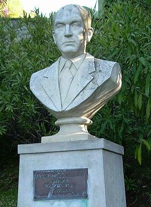 Adolfo Ibáñez Boggiano - Bust of Adolfo Ibáñez at Viña del Mar