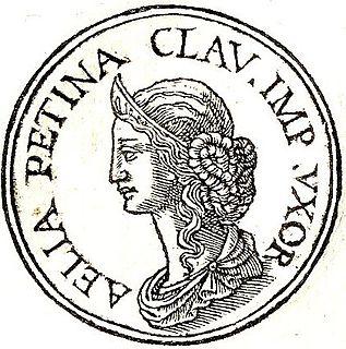 Aelia Paetina Second wife of Roman emperor Claudius