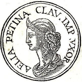Aelia Paetina - Aelia Paetina from Promptuarii Iconum Insigniorum