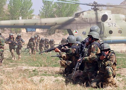 Afghan National Army Air Corps 2010.
