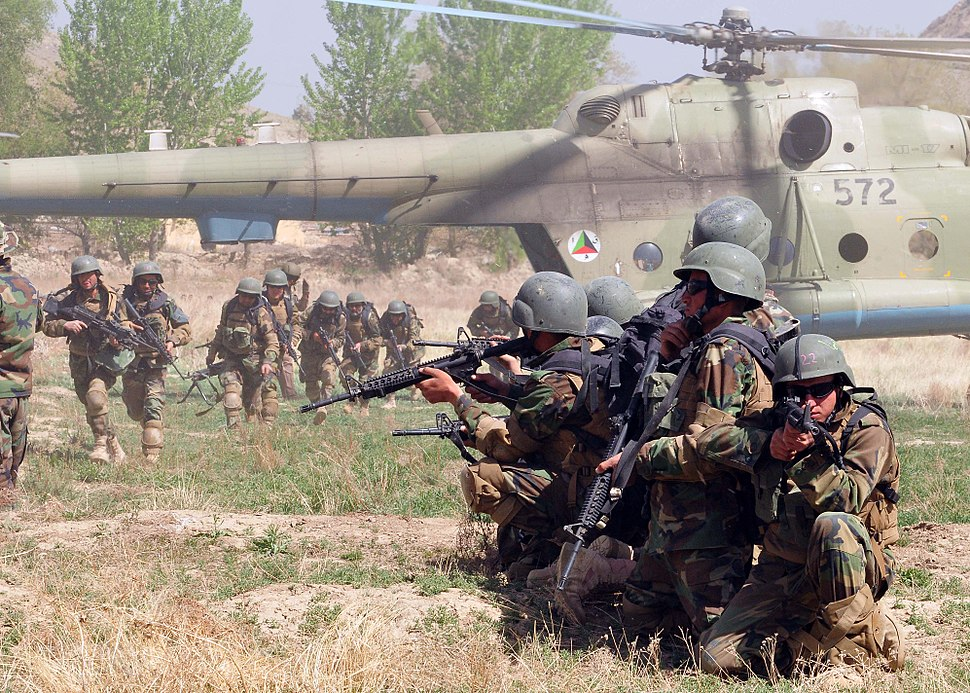 Afghan Commandos and Afghan National Army Air Corps 2010