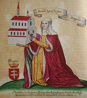 Windisch - Agnes of Hungary with Königsfelden Abbey