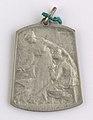 Aide et Apprentissage des Invalides de la Guerre 1914-1918 Section Brabançonne, medal by Jacques Marin (1877-1950), Belgium, 1918, Coins and Medals Department of the Royal Library of Belgium, 2Lef 104-40 (recto).jpg