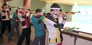 ISSF shooting events - Competition in 10 metre air rifle