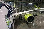 AirBaltic Bombardier CS300 mainenance (33093274941).jpg