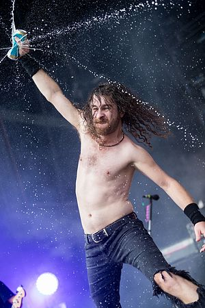 Airbourne (band) - Joel O'Keeffe at Rock am Ring 2017