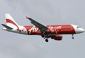 Indonesia AirAsia Flight 8501 - The aircraft involved in the crash, registered as PK-AXC, five years before the crash