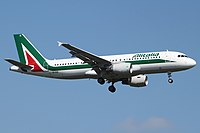 EI-EIE - A320 - Alitalia