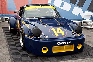 Al Holbert - Al Holbert's 1974 Porsche 911 Carrera RSR 3.0 on static display at the Porsche Rennsport Reunion IV.