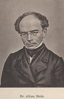 Alban Stolz German theologian