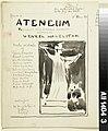 Albert Edelfelt - Ateneum-lehden kansiehdotus, julkaisija Wentzel Hagelstam - A II 1404-3 - Finnish National Gallery.jpg