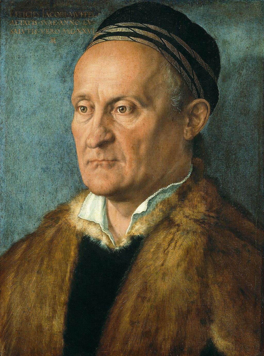 """""""Portrait of Jakob Muffel"""" byAlbrecht Durer"""