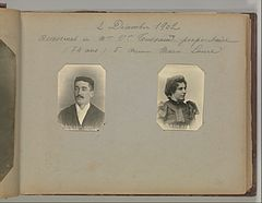 Album of Paris Crime Scenes - Attributed to Alphonse Bertillon. DP263669.jpg