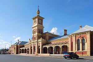 Albury railway station - Image: Albury Railway Station 2