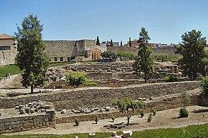 Alcazaba of Mérida - Image: Alcazaba de Merida Spain
