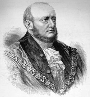 David Henry Stone - Alderman Stone as the new Lord Mayor of London.