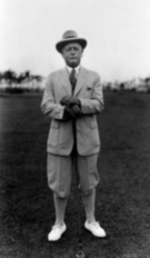 Alex Smith (golfer) - Smith, c. 1913