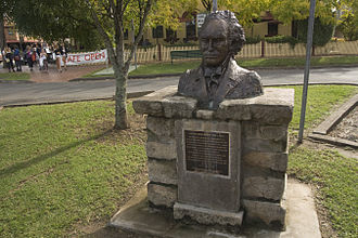 Alexander Berry - Alexander Berry monument at Berry, NSW, Australia