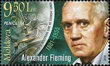 Alexander Fleming 2018 stamp of Moldova.jpg