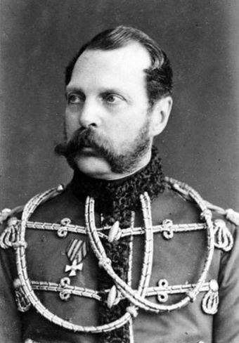Tsar Alexander II, also known as Alexander the Liberator, was the Emperor of the Russian Empire from 3 March 1855 until his assassination in 1881 Alexander II 1870 by Sergei Lvovich Levitsky.jpg