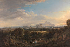 Alexander Nasmyth - A View of Edinburgh from the West (1822-6)
