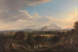 Alexander Nasmyth - A View of Edinburgh from the West (1822-6)