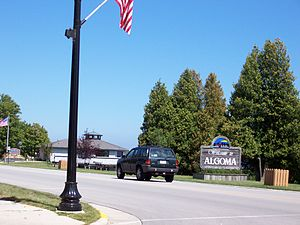 Algoma, Wisconsin - Image: Algoma Wisconsin