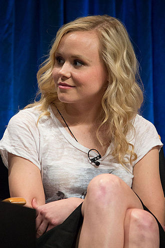 American Horror Story: Cult - Image: Alison Pill at Paley Fest 2013