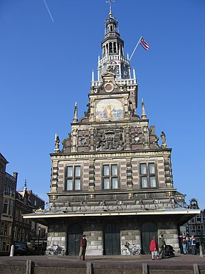 Weigh house - The Waag in Alkmaar.