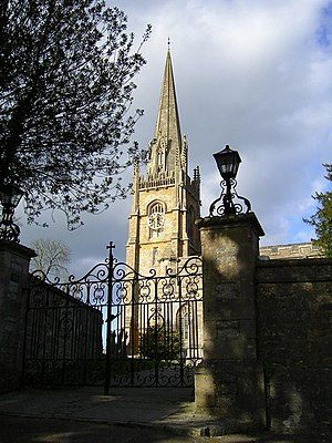 Church of All Saints, Castle Cary - Image: All Saints Church, Castle Cary geograph.org.uk 451117