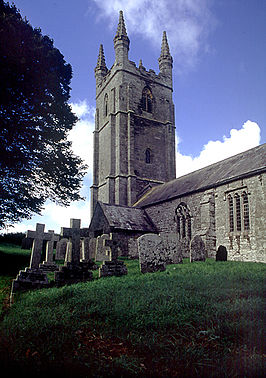 All Saints Church in Dunterton