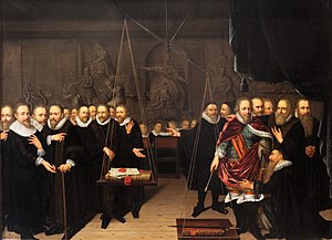 Arminianism - Allegory of the theological dispute between the Arminianists and their opponents