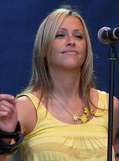 Nicole Appleton Canadian pop singer