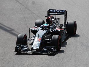 McLaren MP4-31 - Fernando Alonso at the Monaco Grand Prix