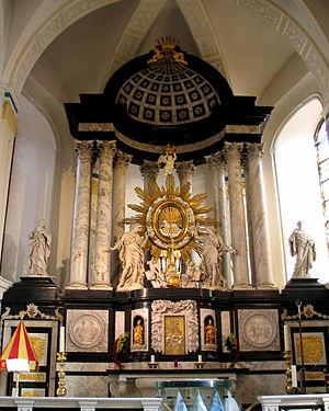 Jean Del Cour - Altar in the Virga Jesse Basilica.