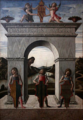 Triumphal Arch of the Doge Nicolò Tron