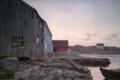 Amaldus Nielsen - A Fisherman's Home, Old Hellesund - Fiskerhjem, Gamle Hellesund - Nasjonalmuseet - NG.M.00620.png